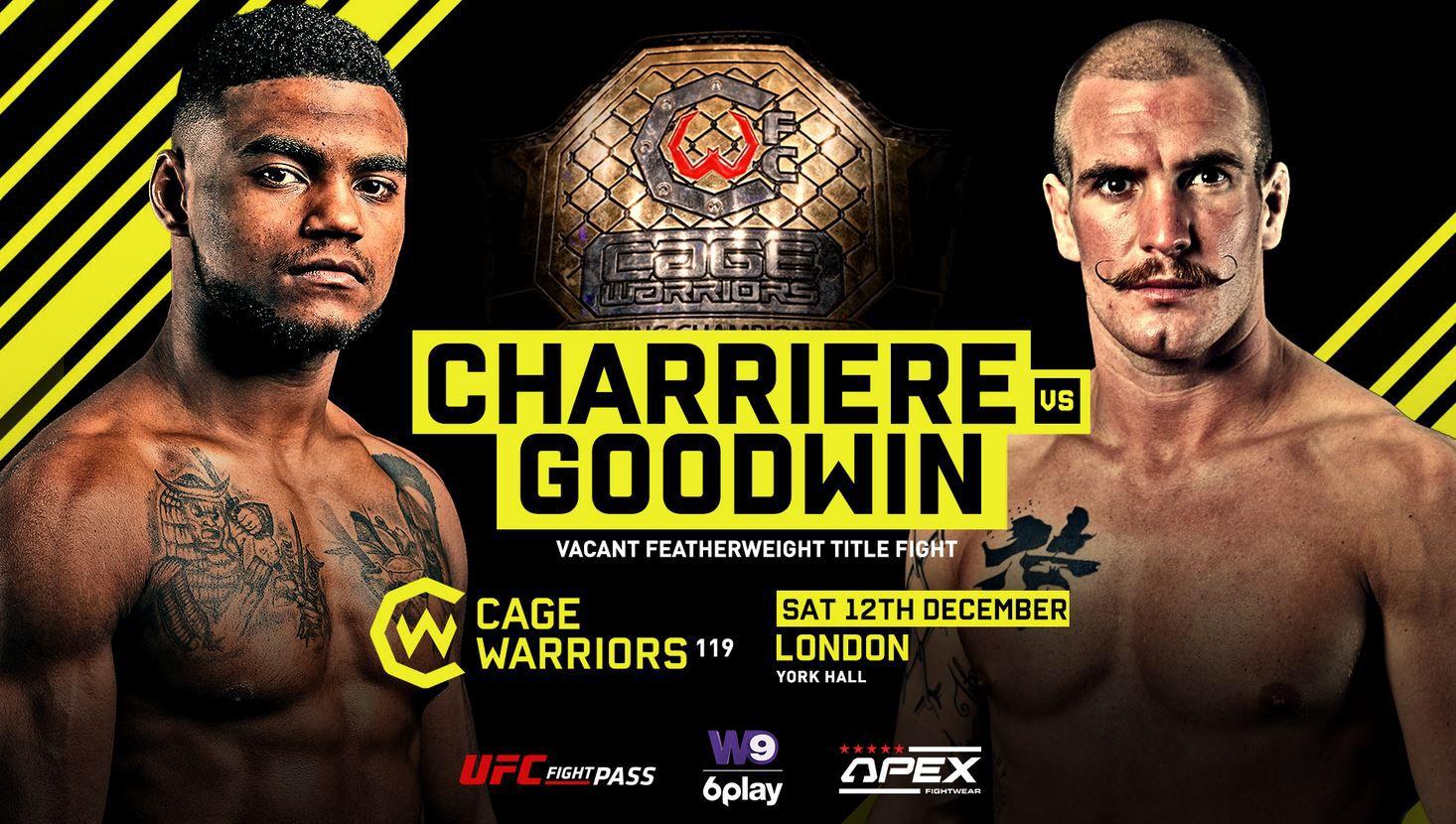 Cage Warriors (MMA) arrive en France en clair et sera diffusé sur 6 Play !
