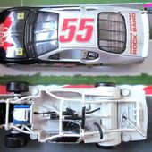 CHEVROLET MONTE CARLO AEROSMITH NASCAR KENNY WALLACE 1999 CHASSIS DEMONTABLE HOT WHEELS 1/43 - car-collector