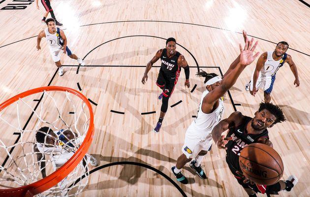 Le Miami Heat est désormais à une victoire du second tour des playoffs