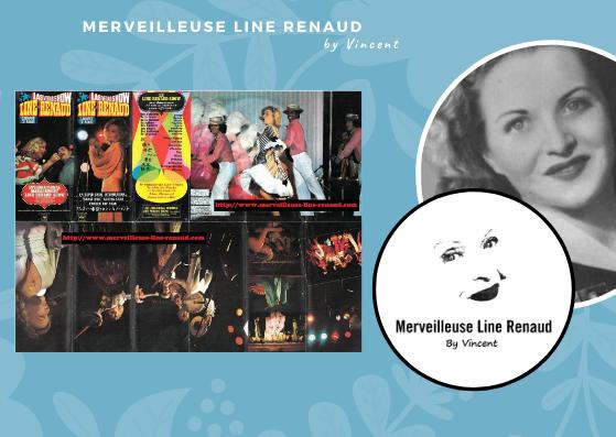 DOCUMENTS: Flyer du Las Vegas Show Line Renaud Cabaret de Paris