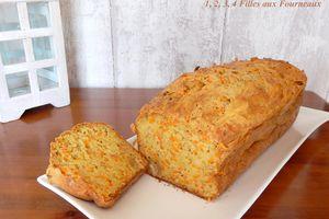 Cake Carotte / Noisette / Comté