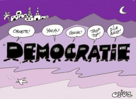 Les baltringues incultes tuent la démocratie