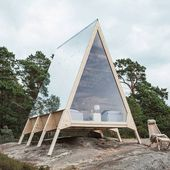 Minimalist Cabin Without Any Ecological Footprint