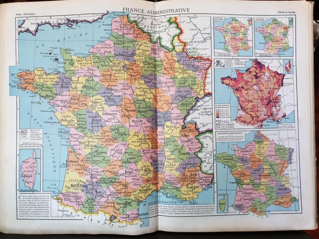 ATLAS CLASSIQUE 1953 Schrader & Gallouédec - 12 euros