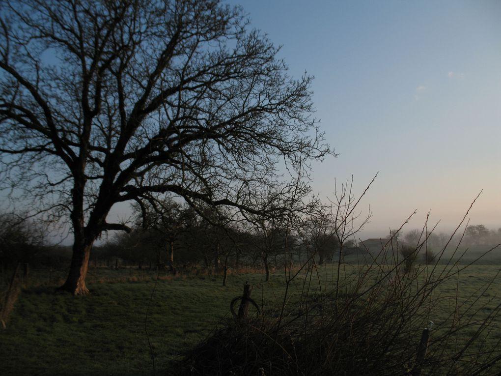 Photos du village et de ses alentours. Activités champêtres, Instantanés paisibles.