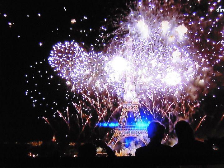 Feux d'artifice Paris  2019: Magnifique!