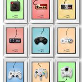 it8Bit - Controller Poster Series Created by Quentin Fevre