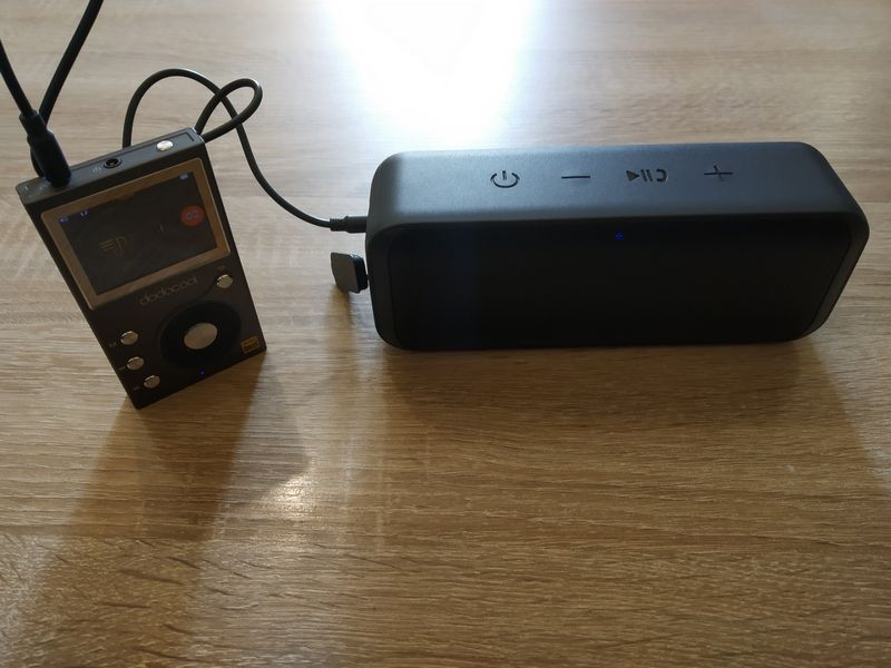 Test de l'enceinte nomade Bluetooth 5.0 Crystal Clear Stéréo 20 Watts - Aukey SK-A2 @ Tests et Bons Plans