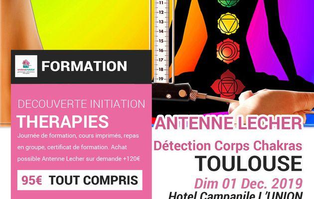 TOULOUSE Formation Antenne LECHER : détection corps humain, chakras, aura 011219