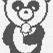 panda kawaii - Les créas de puce