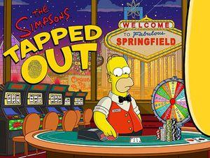 Les Simpsons se paient un casino mobile
