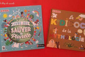Kididoc sauver la planète et Kididoc de la mythologie - Editions Nathan