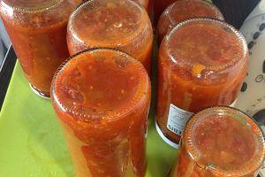 sauce tomate en bocaux