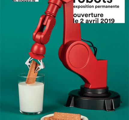Trobo les robots de la nouvelle exposition permanente de la Cité des Sciences et de l'Industrie