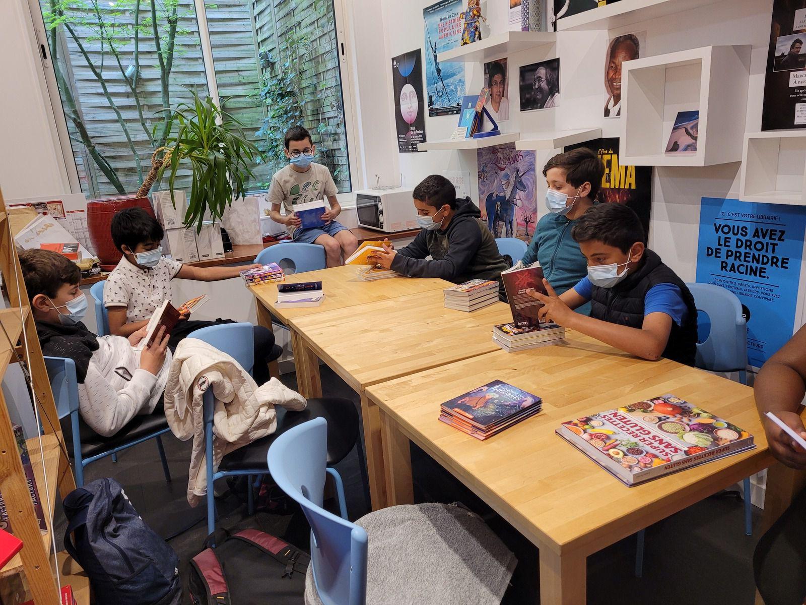 Jeunes en Librairie