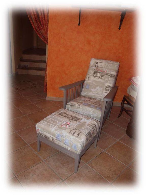 Un seconde vie pour un fauteuil