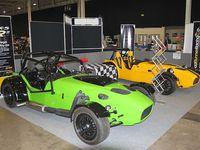 Dans l'ordre : Road Runner Racing SR2, Robin Hood 2b, Spyder Silverstone, Stuart Taylor Locoblade, Sylva Striker, T&J Locust, Tiger Super Six, Vindicator Sprint, Westfield SEight