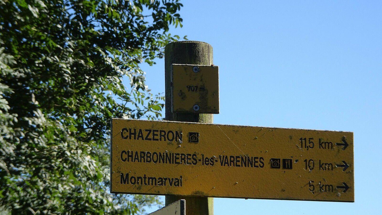 Rando'canard à Charbonnières les Vieilles/Gour de Tazenat. (3).