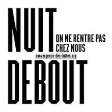 NUIT DEBOUT : Un appel au blocage de l'Euro 2016
