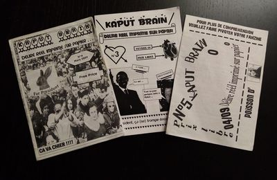 Archives - Kaput Brain fanzine