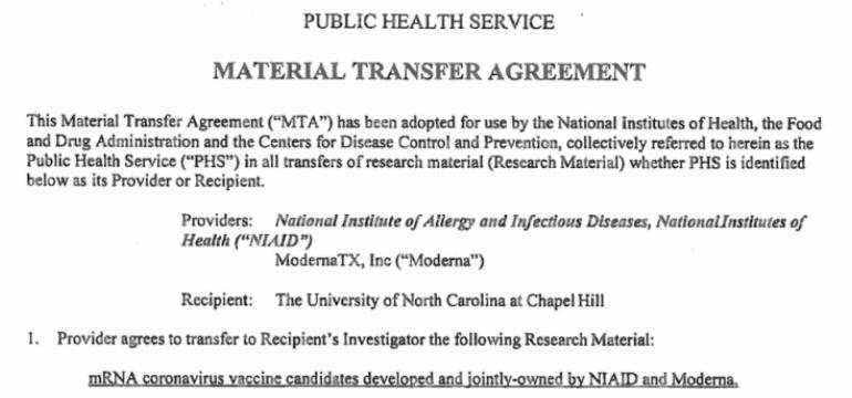 Documentos confidenciales revelan que Moderna ha preparado su vacuna de ARNm mucho antes de la aparición del Covid-19