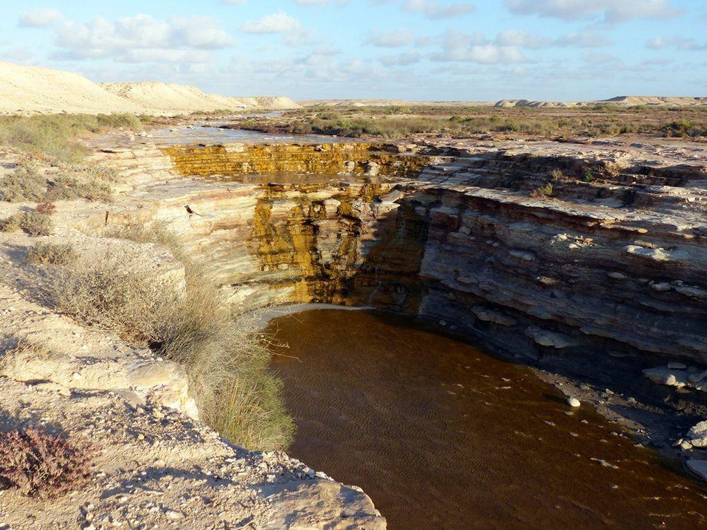 2016 - Des cascades dans le désert.
