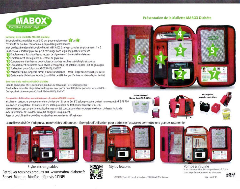 Présentation de la Mallette MaBOX -  Diabète