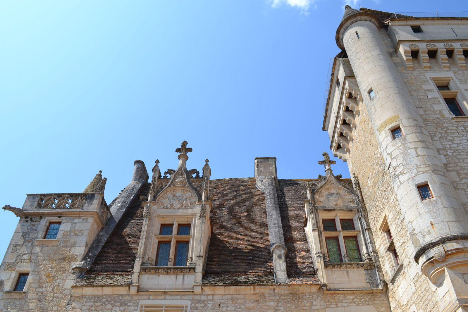 Le château des Milandes...