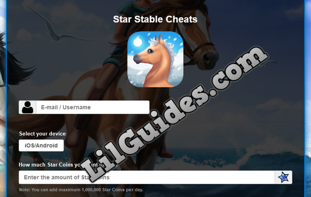 Star Stable Hack and Cheats - Get Unlimited Star Points for FREE