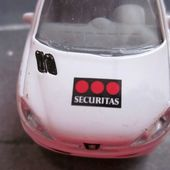 PEUGEOT 206 SOCIETE SECURITAS NOREV 3 INCHES SURVEILLANCE INTERVENTIONS - car-collector