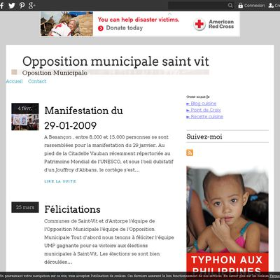 Opposition municipale saint vit