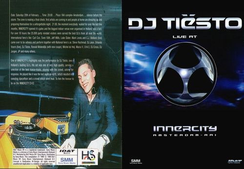 Tiësto DVD Live at Innercity  1999