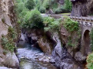 Gorges de la Vésubie (Voyage en camping-car)