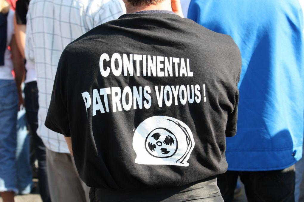 """Photos Gérald: Compiegne soutien aux - camarades de """"Conti"""""""