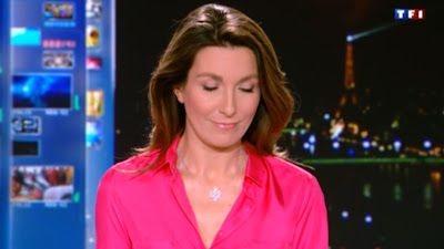 2013 01 04 - ANNE-CLAIRE COUDRAY - TF1 - LE 20H00