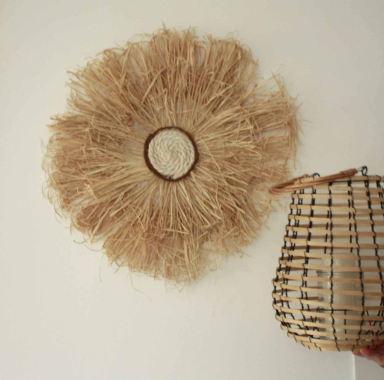 Boho Diy ,faire un juju hat en raphia naturel