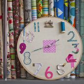 Make it: A Sewing Clock