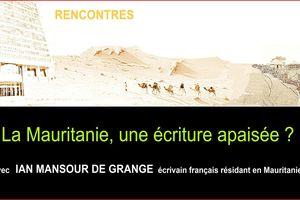 """Vendredi 5 avril 2013, à 20 h 30, salle d'accueil de Montbrun-Bocage, conférence débat :"""" La Mauritanie, avec Ian Mansour de Grange,"""