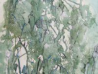 Peintures de : Claire Mossaz, Danièle Mengual, Elisabeth Ollier, Françoise Delmotte (I et II), Annette Sandstrïm (I et II), Florence Laurent, Yolande Gerdil. (Cliquez pour agrandir)