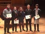 Concours Des jeunes altistes 2015: Les lauréats
