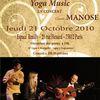Le concert de Deva Premal et Miten, avec Manose, à Paris
