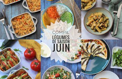 COMPIL LEGUMES DE SAISON JUIN