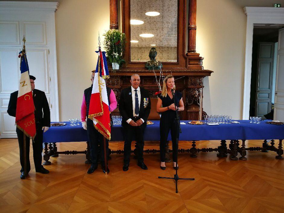 Commémoration des harkis du 12 mai 2018, à Angers (49) Photos