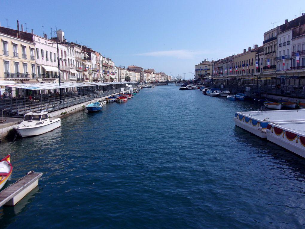 Sète, le port de plaisance