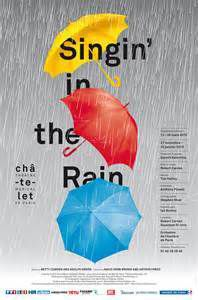 Singing in the rain - Theatre du chatelet