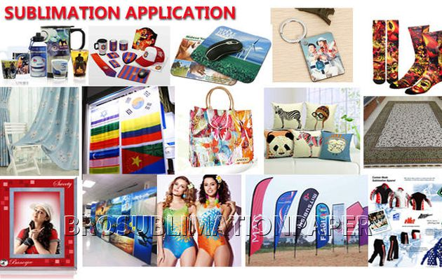 What's the application and usage of sublimation transfer ?