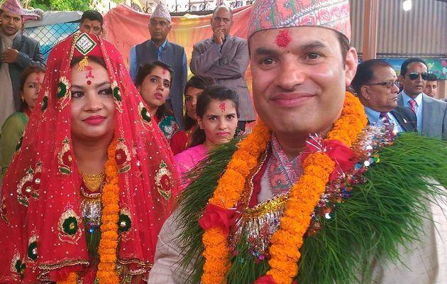 Nepali wedding, mariage népalais... des couleurs plein les yeux