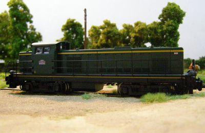 Locomotive diesel 040.DE 697 SNCF