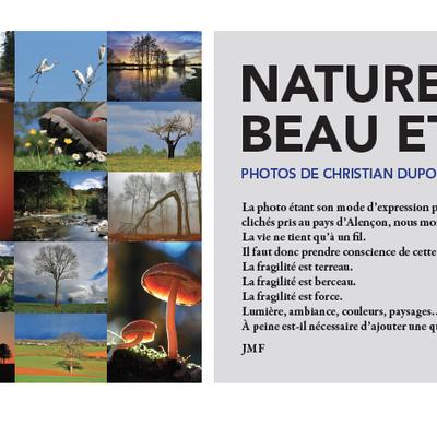 Naturellement beau et fragile : L'exposition arrive à Sées !