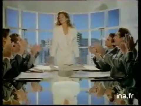 Pub d'autrefois : 1992, Publicité L'Oréal avec Cindy Crawford